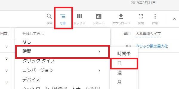 Google広告日別
