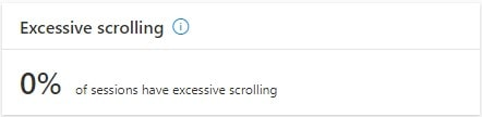 microsoft clarity Excessive scrolling